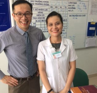 Dr. Dinh and Fellow, Dr. Tran