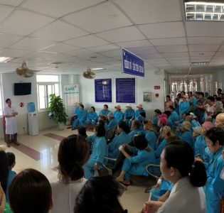 Patient lecture on nutrition